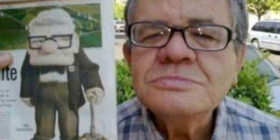 """El anciano de """"Up"""" Foto:Oddee"""