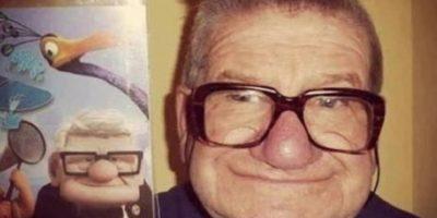 Y el abuelo. Foto:Oddee
