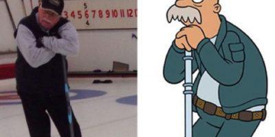 """Zed, el conserje de """"Futurama"""" Foto:Oddee"""