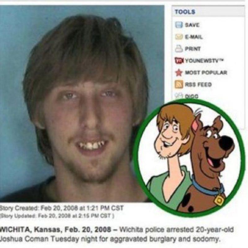 "Shaggy, de ""Scooby Doo"" Foto:Oddee"