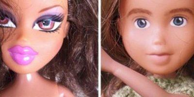 De esta manera, cada muñeca cambia totalmente. Foto:Tree Change Dolls /Tumblr