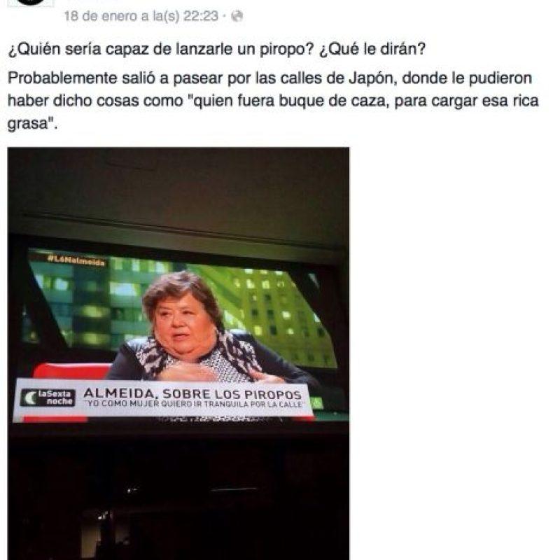 """En Latinoamérica, el equivalente a esto sería la página """"Macho más cabrón"""" y similares. Foto:Macho más cabrón"""