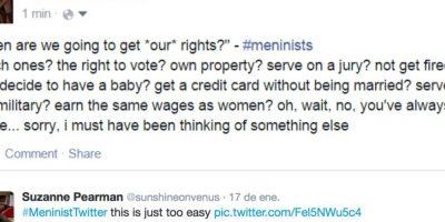 """Muchas feministas y contradictoras del """"movimiento"""" pensaron en los derechos aún vulnerados de las mujeres. Foto:Twitter"""