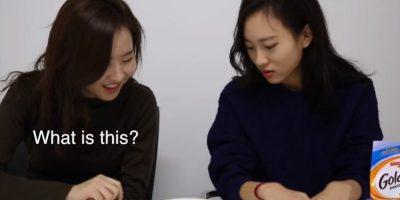 Entre ellos, dulces y papas fritas. Foto:sw yoon/Youtube