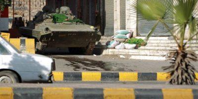 Imágenes del país en medio de las protestas Foto:AFP