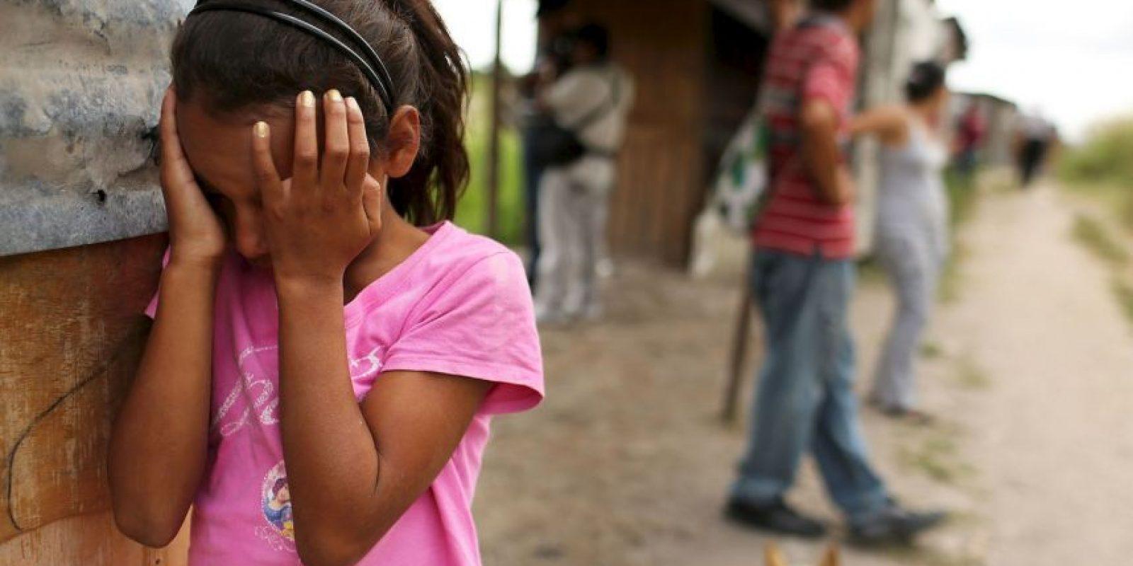 10. Se estima que únicamente uno de cada 36 casos de violación es denunciado. Foto:Getty