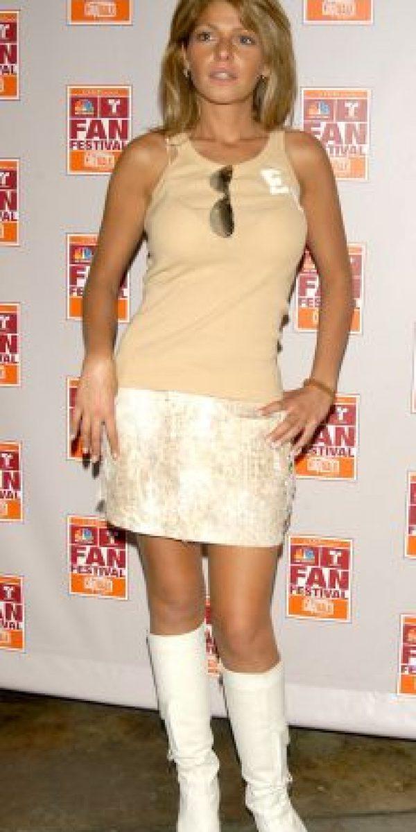 """2004, Así se veía la actriz antes de ser """"Soraya Montenegro"""" Foto:Getty Images"""