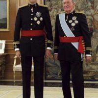 2014, durante su coronación como Rey de España Foto:Getty Images