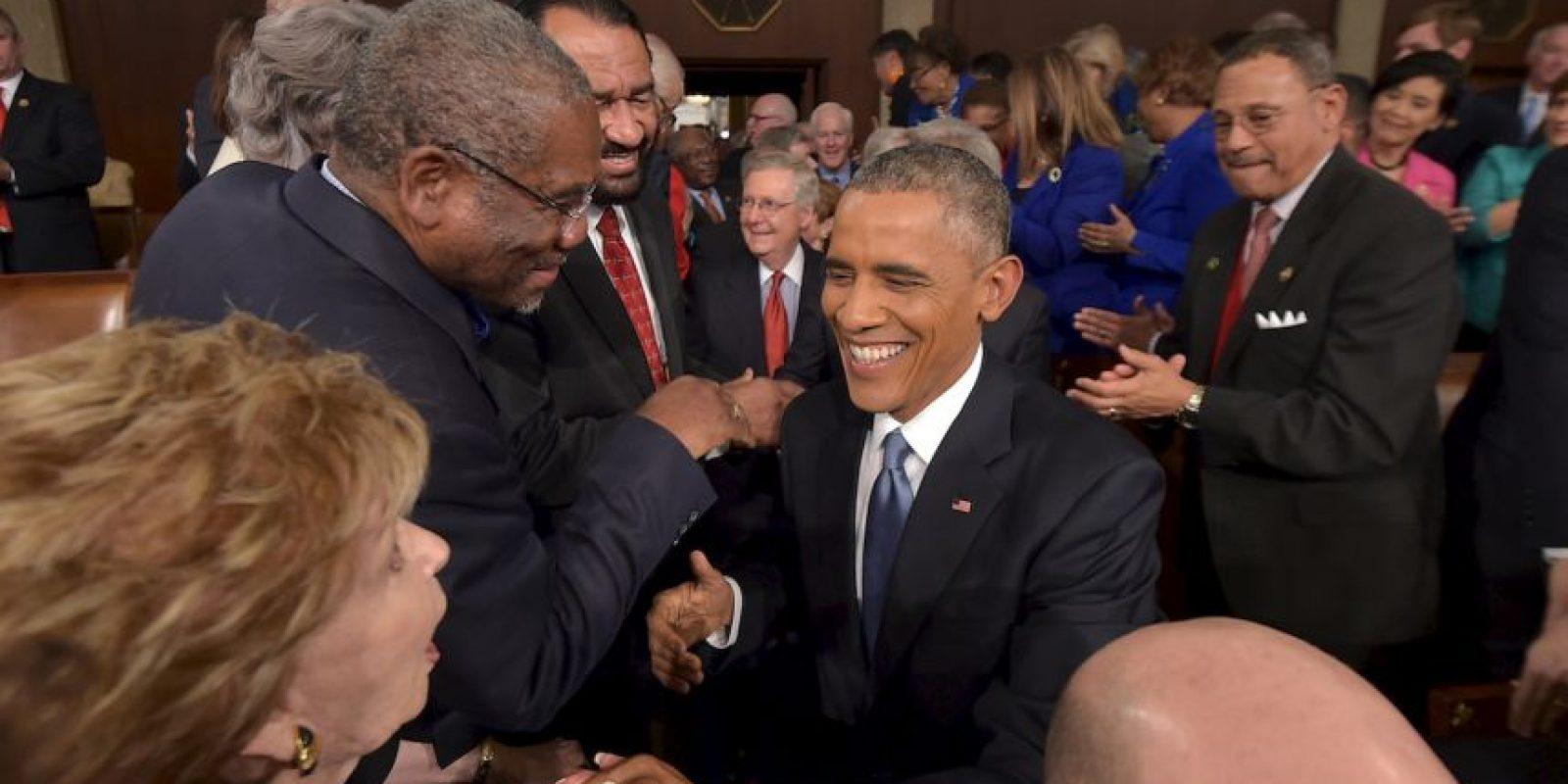 """4. Mencionó que no tenía más campañas que correr porque """"las gané las dos"""". Foto:Getty"""