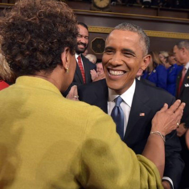 """3. """"El Congreso tiene que aprobar una ley que asegura que una mujer se paga lo mismo que un hombre por hacer el mismo trabajo. Realmente, es de 2015"""". Foto:Getty"""