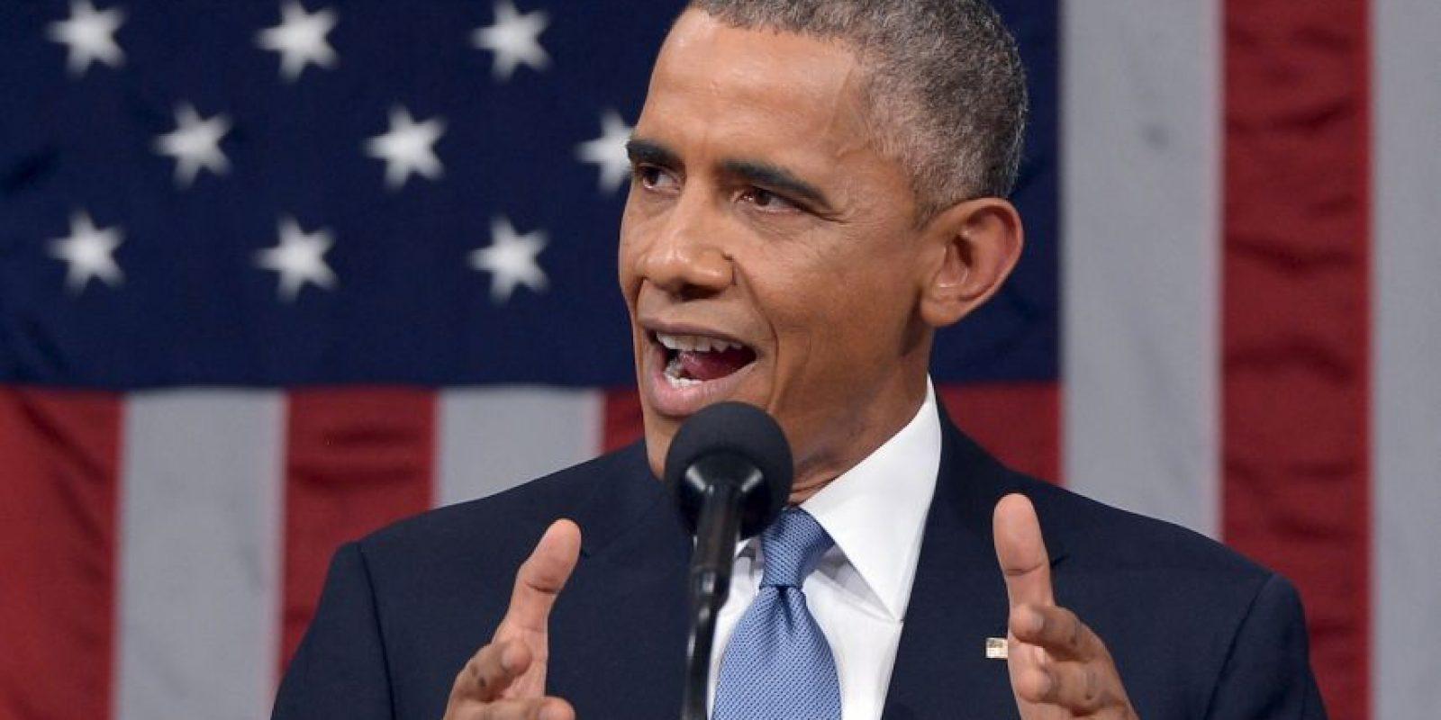 6. El tema de la inmigración fue relegado durante el discurso. Foto:Getty