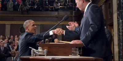 """10. Este manifestó que vetará al Congreso de ser necesario para """"ir hacia atrás"""" en cuanto a las medidas que propone. Foto:Getty"""