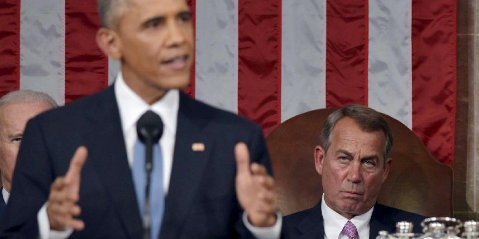 """13. """"Insto a este Congreso para finalmente aprobar la legislación que necesitamos para responder mejor a la creciente amenaza de ataques cibernéticos"""". Foto:Getty"""