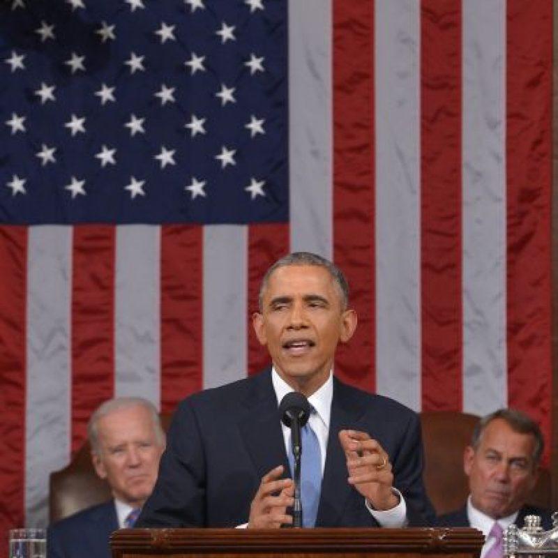"""10. """"Voy a vetar cualquier proyecto de ley que amenaza con sanciones deshacer este progreso"""", Obama sobre un acuerdo nuclear con Irán. Foto:Getty"""