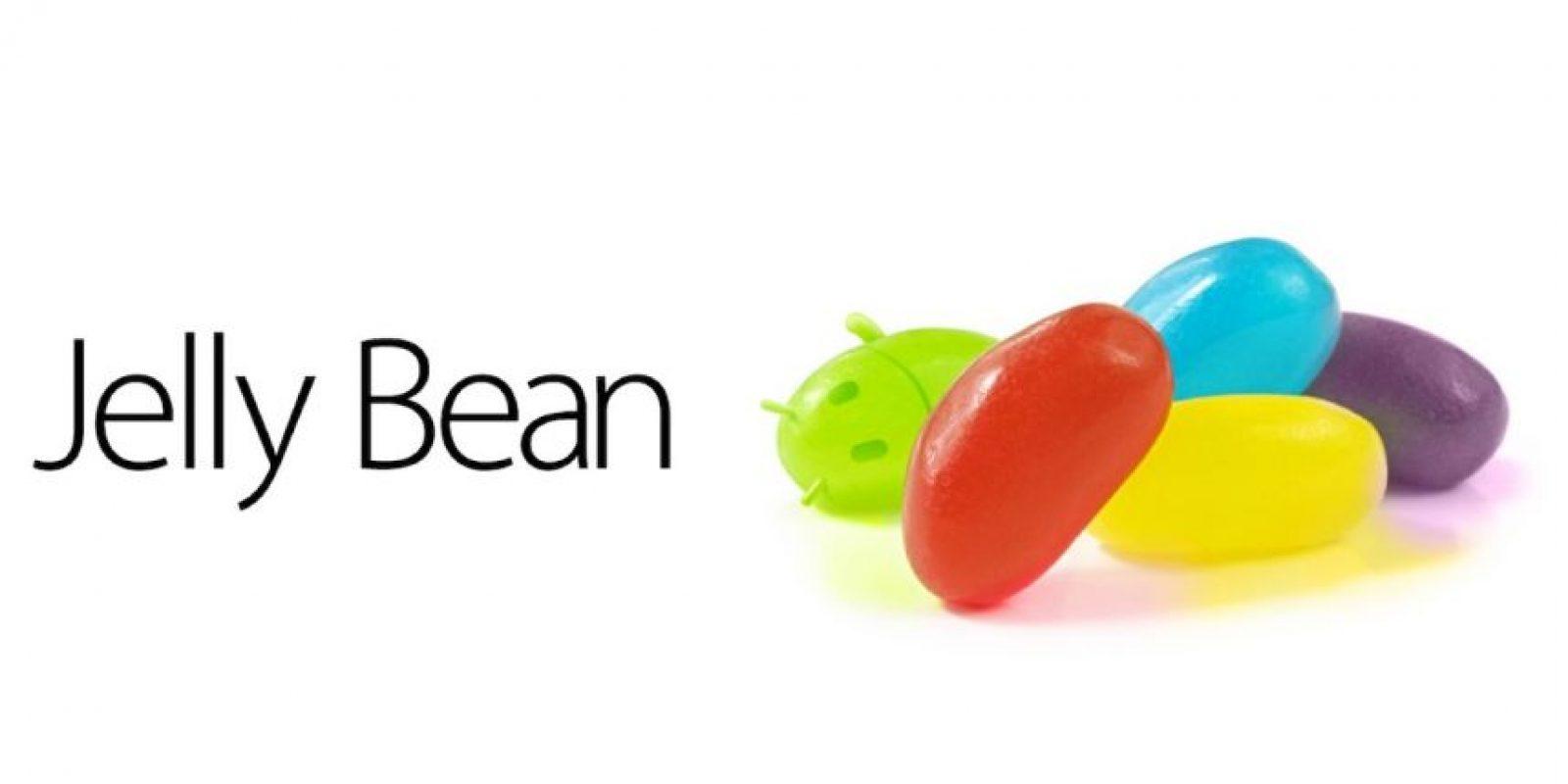 Más de mil millones de usuarios tienen sistema operativo Android Jelly Bean o inferior. Foto:Google