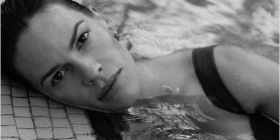 "Fotos. Hilary Swank se convierte en sirena para ""Interview"""