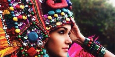 FOTOS. Ana Luisa comparte el traje típico que utilizará en Miss Universo