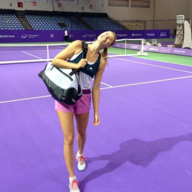 Mira las mejores imágenes del Instagram de la tenista rusa Foto:Instagram: @mariasharapova