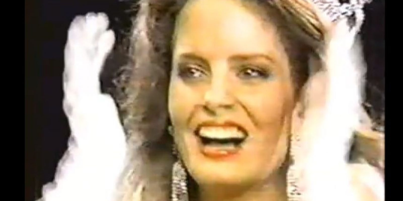Miss Chile 1987 Foto: YouTube