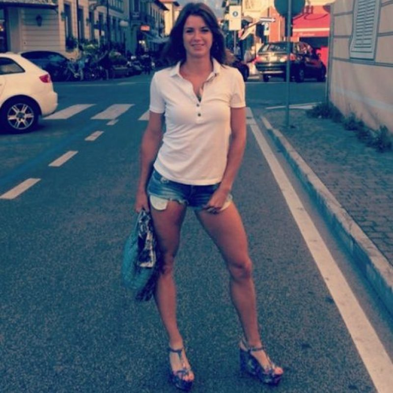 Es italiana y nació en 1991 Foto:Instagram: @camila_giorgi_official