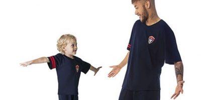FOTOS: ¡Qué ternura! Hijo de Neymar debutó como modelo profesional
