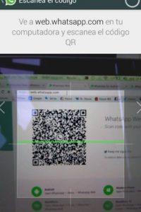 Escaneen el código QR. Foto:WhatsApp