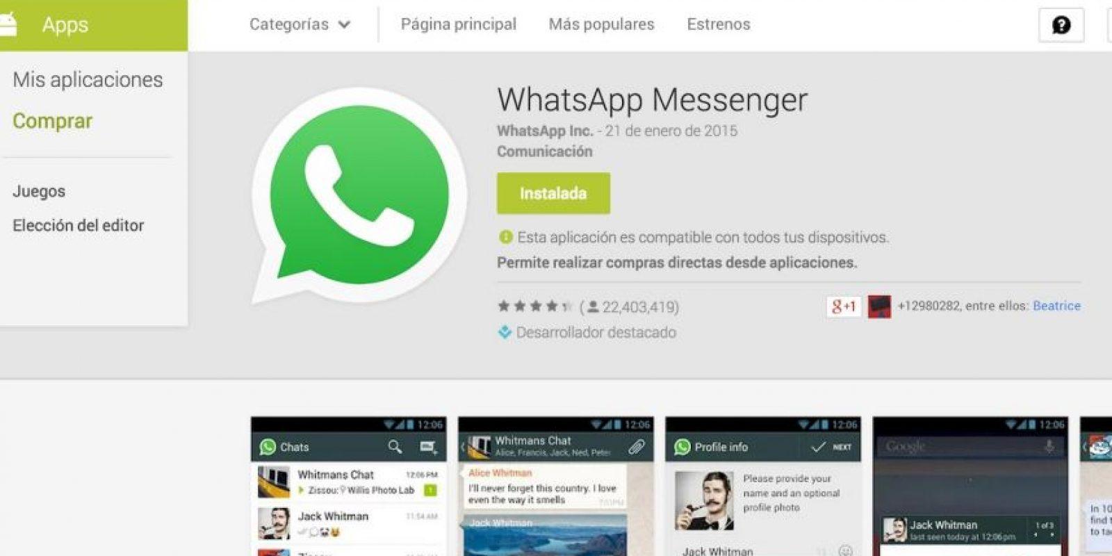 Deberán tener la reciente versión de WhatsApp actualizada el 21 de enero. Foto:WhatsApp