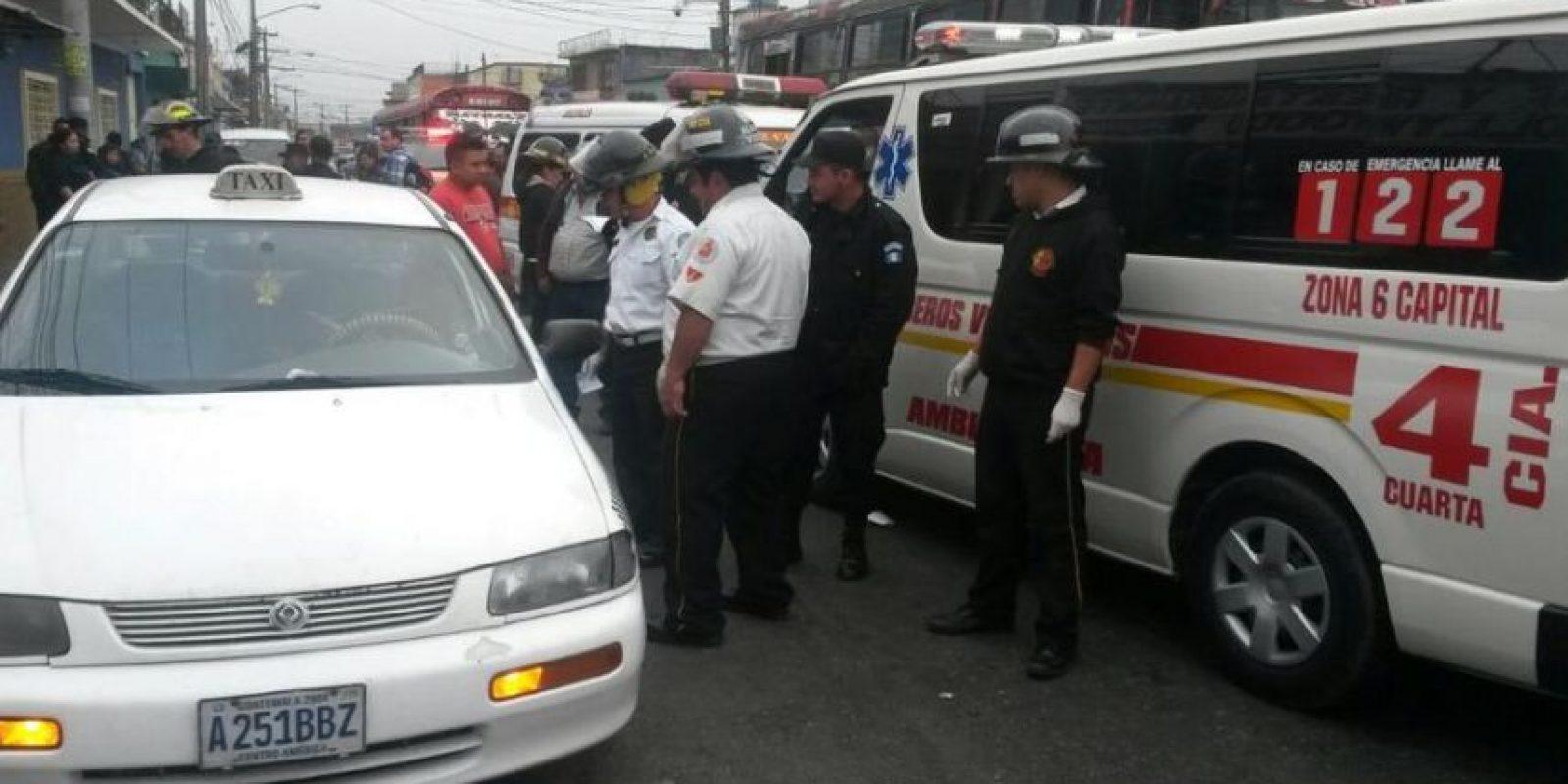El ataque sucede en la 15 avenida y calle Martí, zona 6. Foto:CVB
