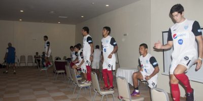 Los jugadores de la bicolor se entrenaron por última vez el martes antes de medirse contra Panamá. Foto:Norvin Mendoza – ACD