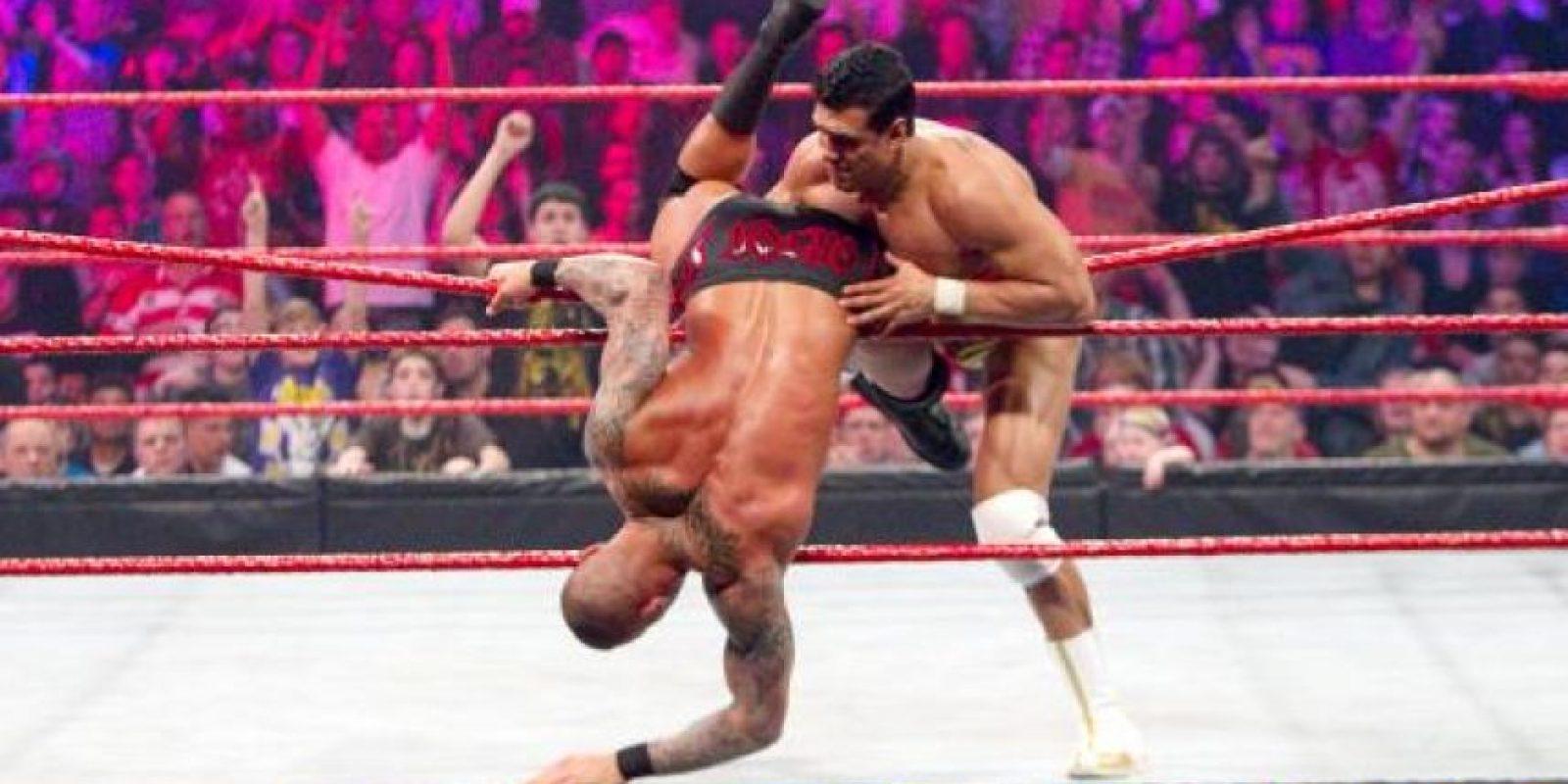 5. La pelea con más hombres Foto:WWE