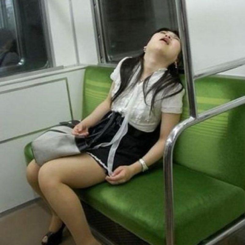 Y 5 minutos después de haberse quedado dormida… Foto:Jookero