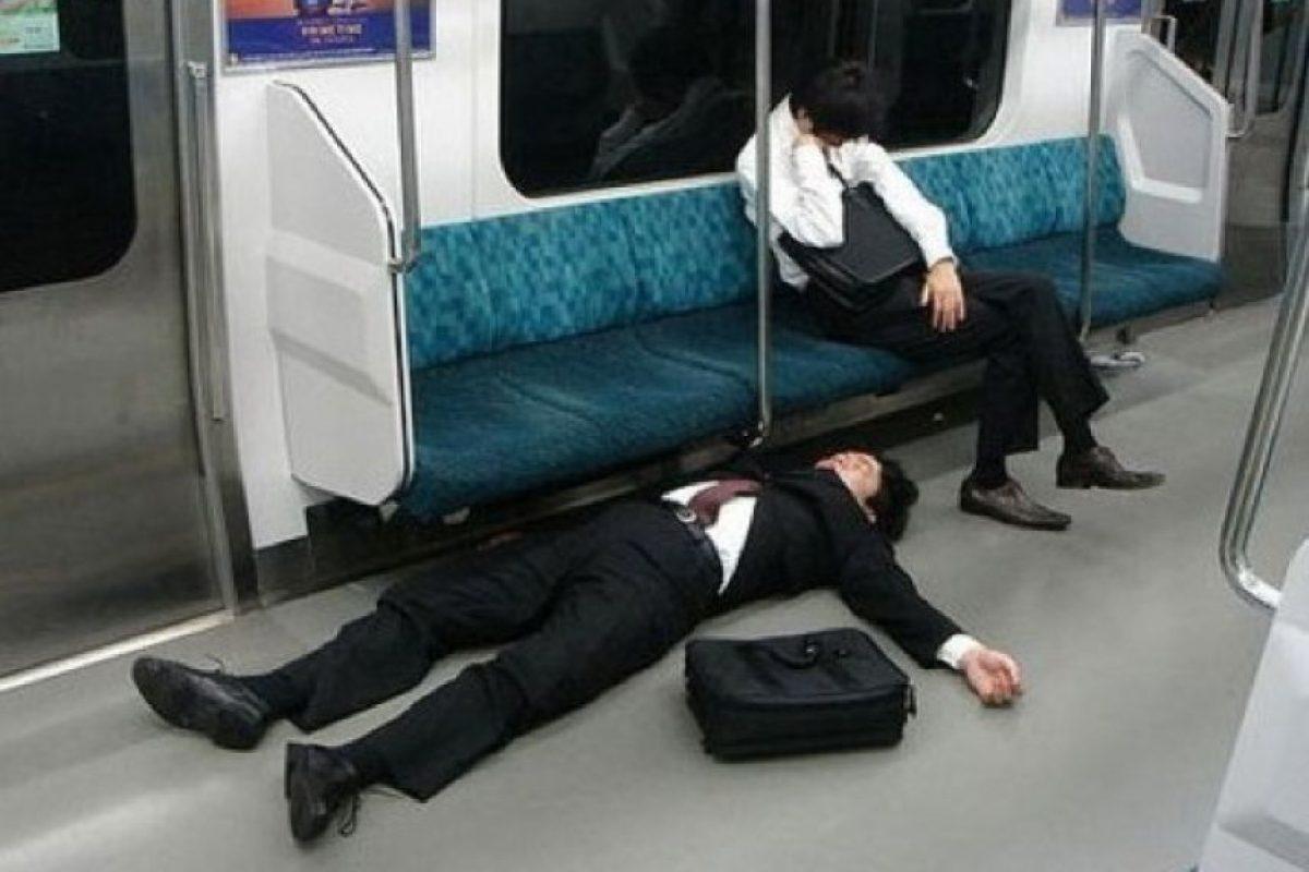 ¡Totalmente cansado! Foto:Quicklol