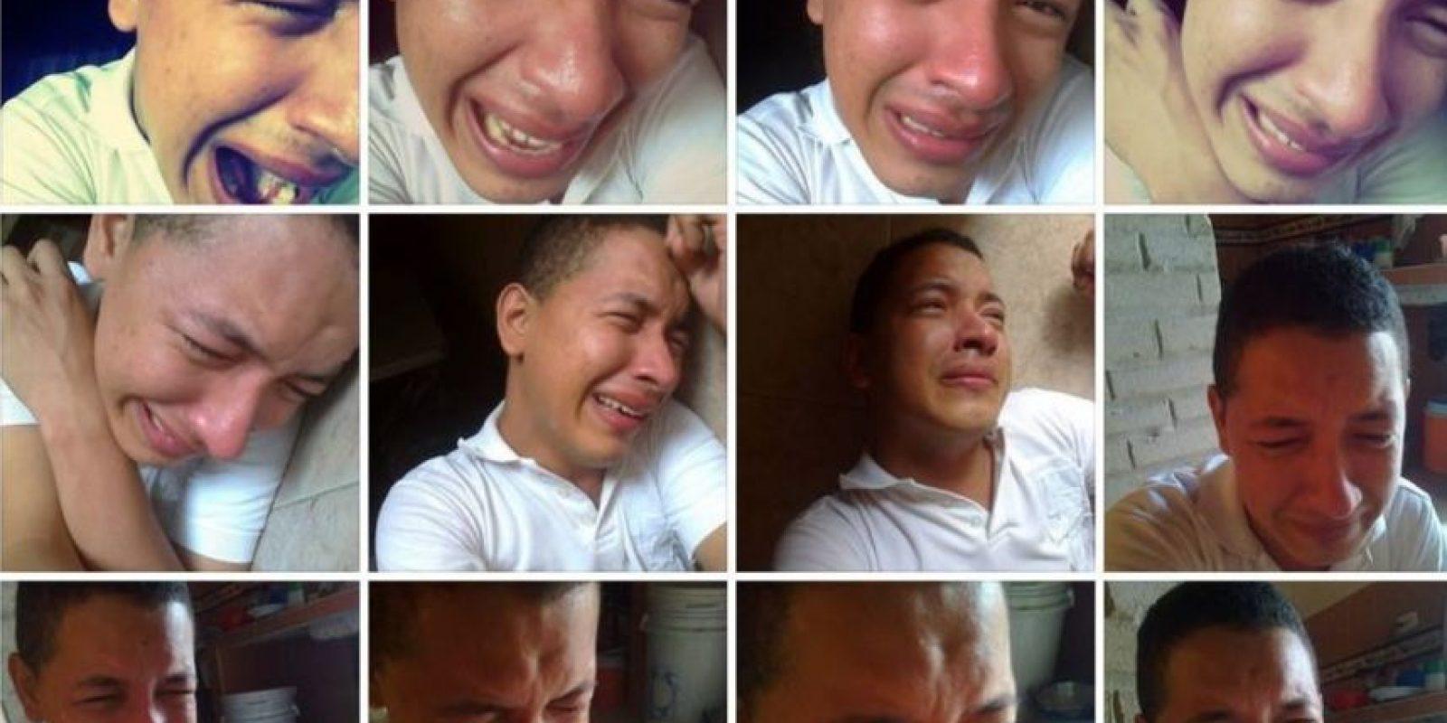 """""""Llegan las lágrimas"""" Foto:Guisadas y Ñeradas de Redes Sociales"""
