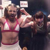 Comenzó desde 2009 a luchar vestido de mujer. Foto:Ladybeard/Facebook