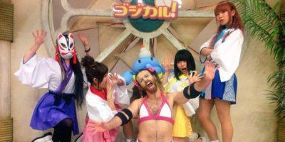 """Lo adoran en Japón al combinar toda su """"masculinidad"""" Foto:Ladybeard/Facebook"""