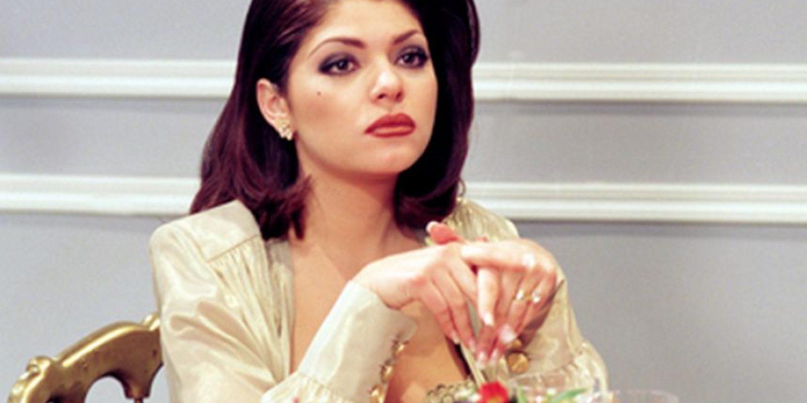 En la telenovela Maria la del Barrio Foto:Televisa