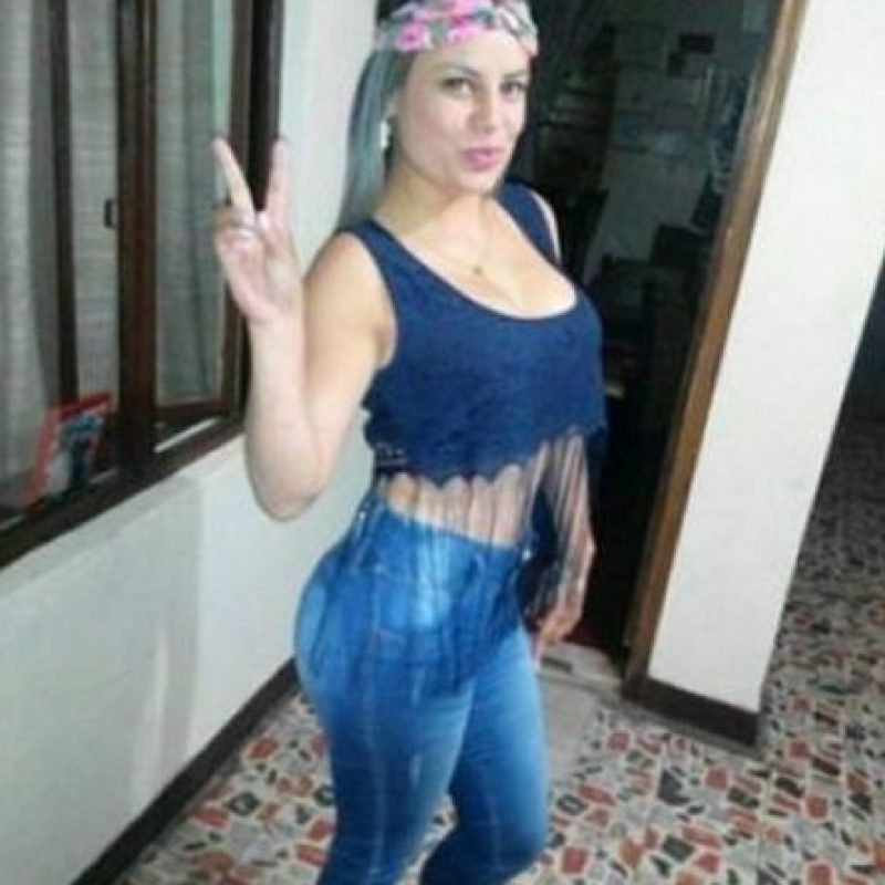 """Andrea Johana Torres, alias """"Yayita"""", colombiana. La llamaban así por sus curvas. Foto:Facebook"""