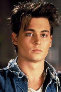 Johnny Depp, de joven. Foto:Fox