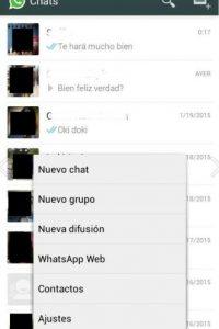 En su WhatsApp ingresen al menú WhatsApp Web. Foto:WhatsApp