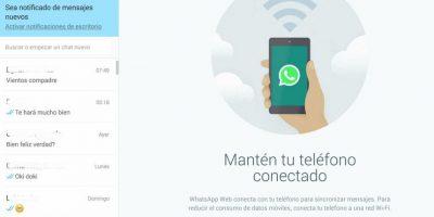 Automáticamente se sincronizarán sus cuentas de WhatsApp. Foto:WhatsApp