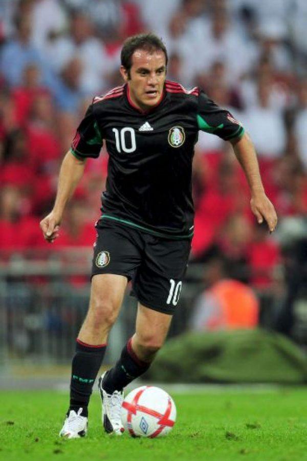 Blanco anotó gol en los tres Mundiales que ha disputado. Foto:Getty Images