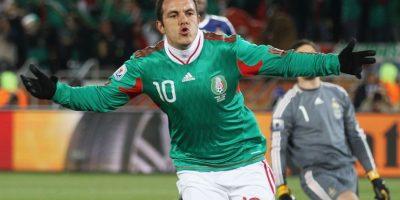 En Sudáfrica 2010 anotó un gol de penal contra Francia. Foto:Getty Images