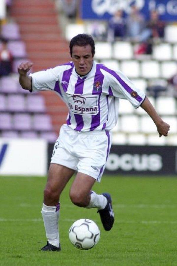 Blanco jugó en el Valladolid de España. Foto:Getty Images
