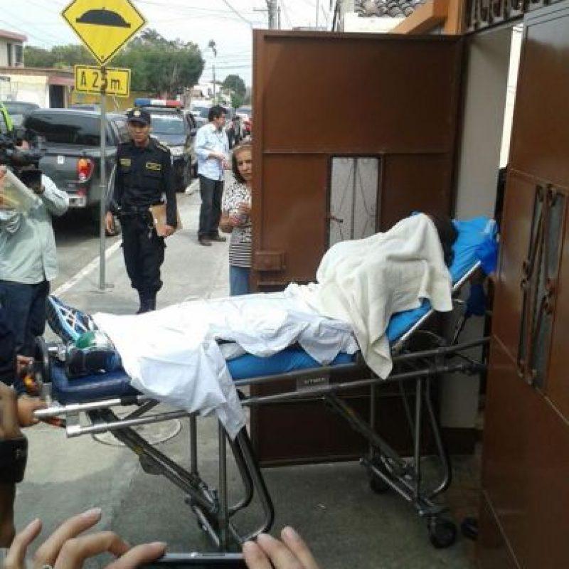 Víctima de secuestro ha sido sedada. Foto:Kenneth Monzón