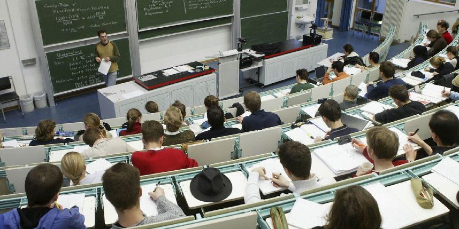 2. No falten los primeros días, ya que conocerán los métodos de evaluación, quiénes son sus profesores, entre otras cosas. Foto:Getty Images