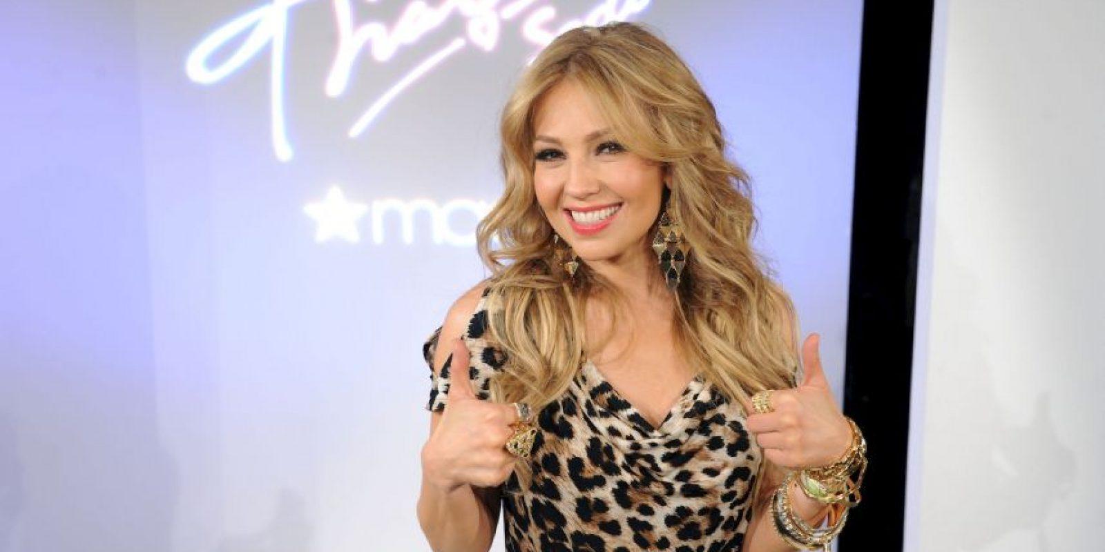 Thalía se casó con un hombre 20 años mayor que ella y además multimillonario Foto:Getty Images