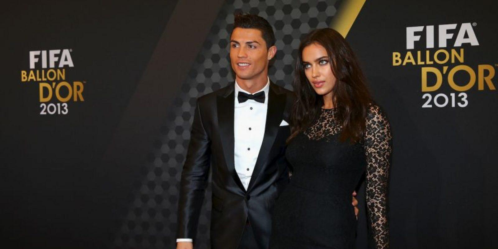 La modelo Irina Shayk acaba de anunciar su ruptura con el futbolista Cristiano Ronaldo Foto:Getty Images
