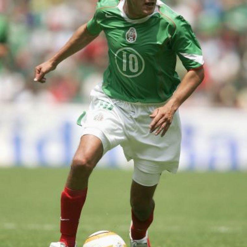 Fue campeón con México en la Copa Confederaciones 1999. Foto:Getty Images