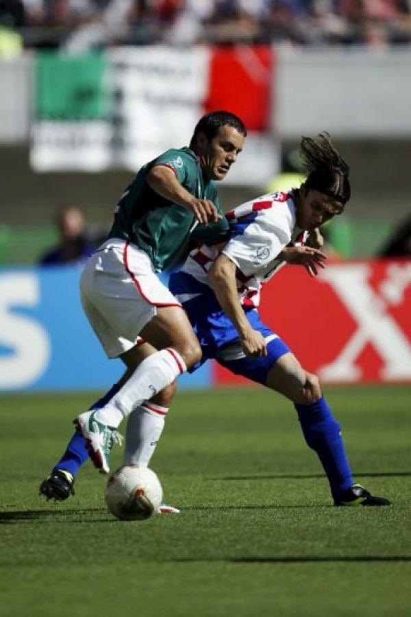 También fue parte del equipo en Cora-Japón 2002. Foto:Getty Images