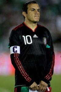 Cuauhtémoc Blanco Bravo cumplió recientemente 42 años de edad. Foto:Getty Images